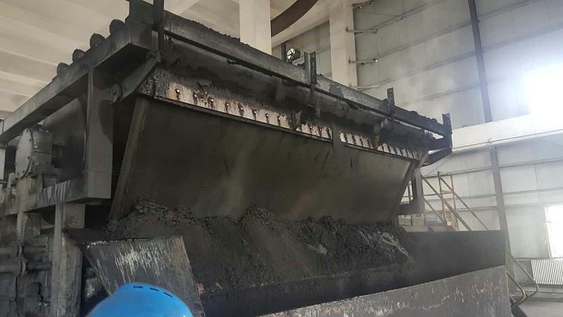 博联水平带式真空过滤机滤带煤化工过滤现场