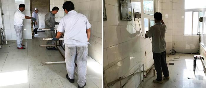 博联过滤公司食堂升级改造