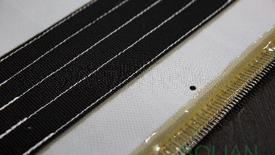 【博联过滤】水平带式过滤布不锈钢接头及连接方法