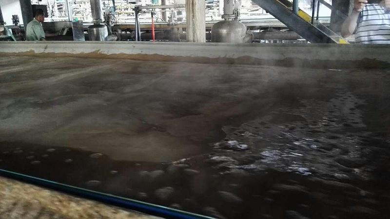 博联压滤机工业滤布味精谷氨酸过滤现场