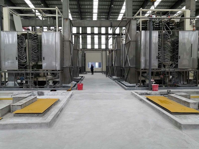 博联立式压滤机滤布氢氧化铝微粉过滤现场